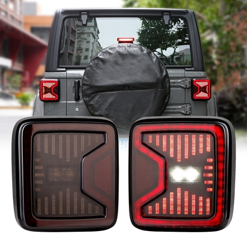 jeep wrangler tail lights not working